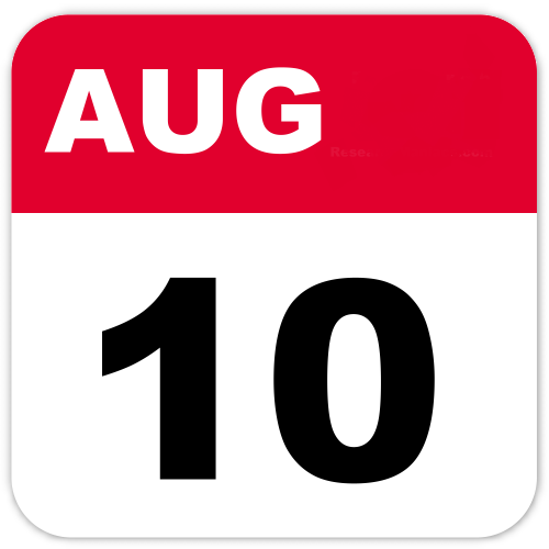 August 10