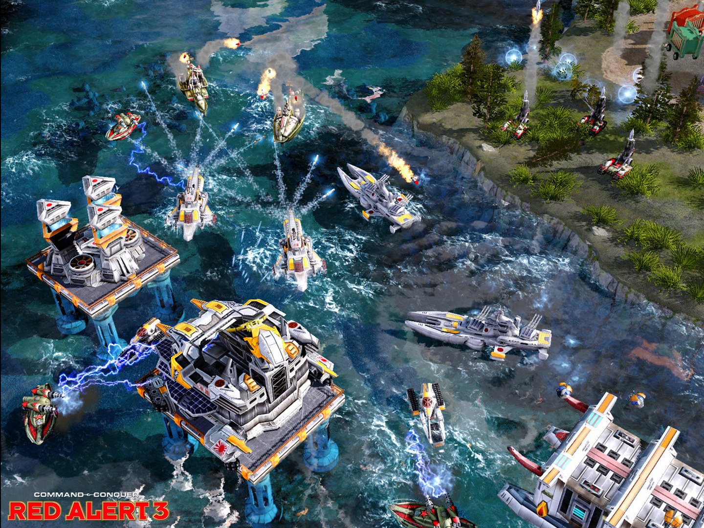 Red Alert 3 game